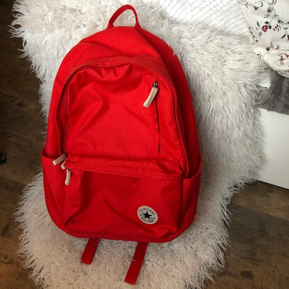 4323dda3b10 Converse Handbags - Red Converse Backpack